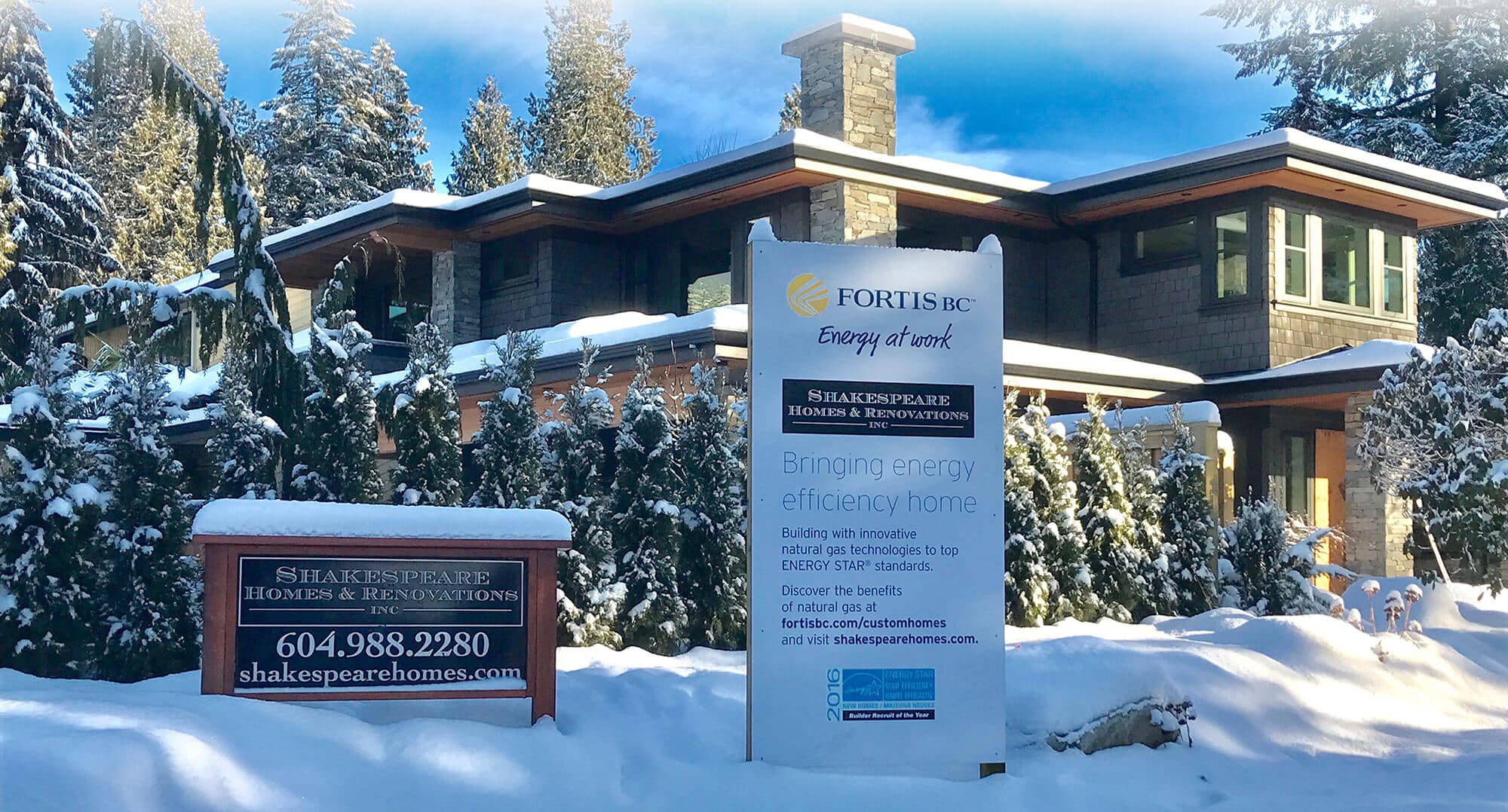Custom Home Builder in North Vancouver - Energy Star and Built Green Homes