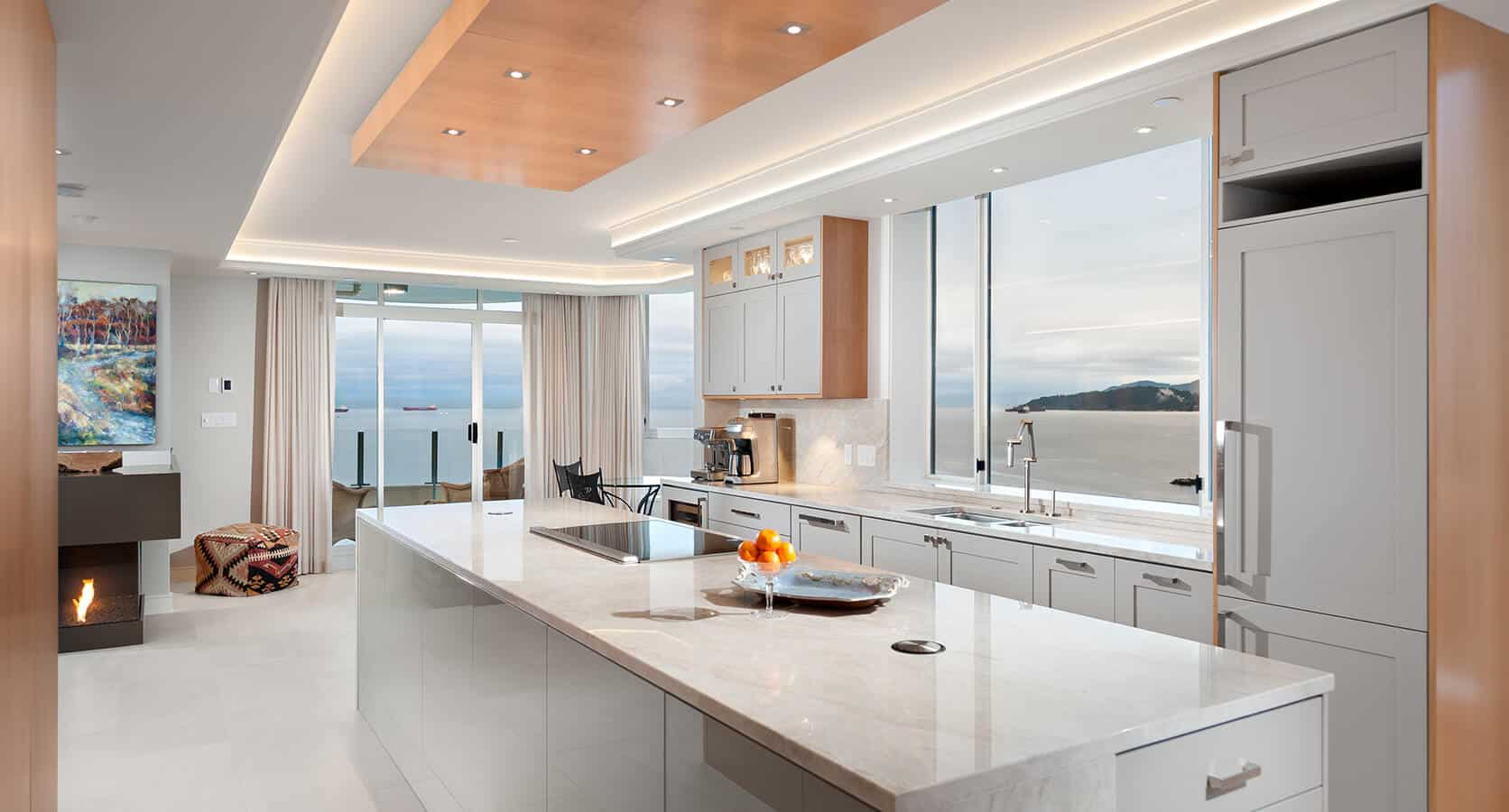Home Renovation North Vancouver Best Kitchen Award to Shakespeare Homes