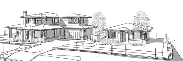 North Vancouver renovation sketch