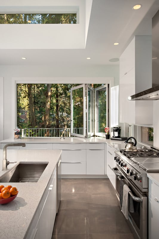 Sink Kitchen after Home renovation Doran in North Vancouver BC Shakespeare Homes