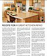 Recipe for a great kitchen remo