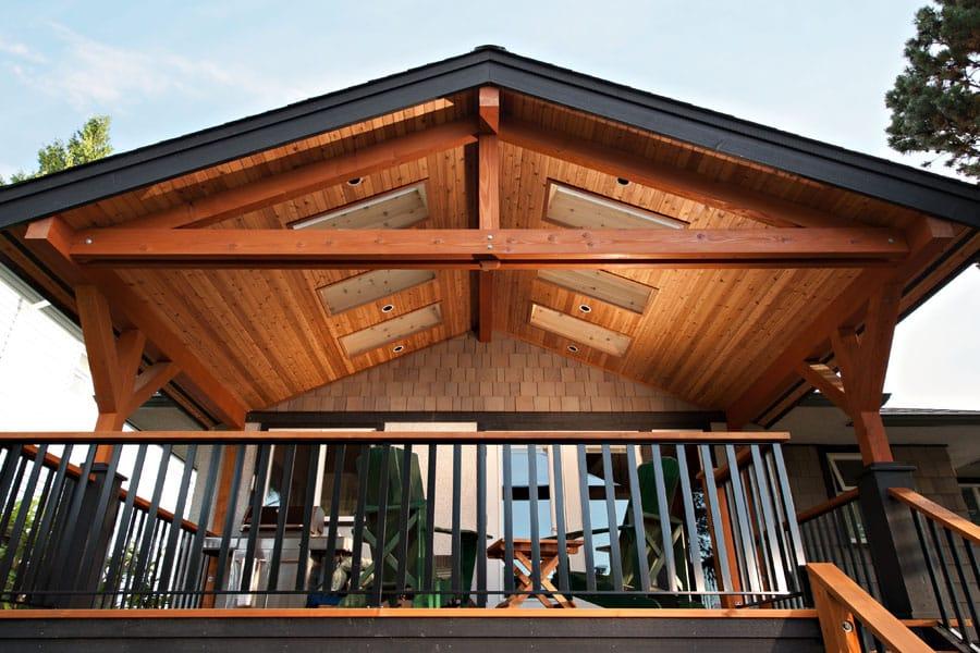 home renovation Forrest Deck side