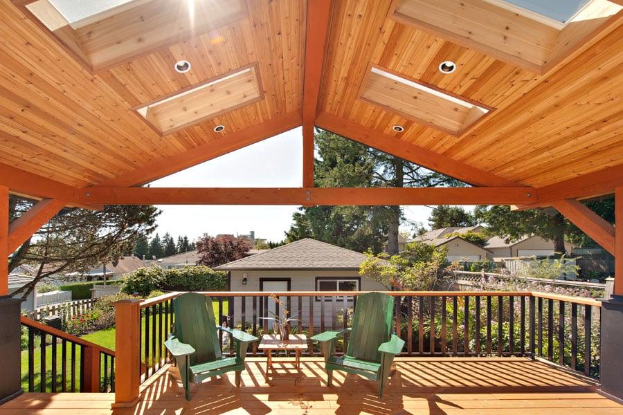 home renovation Forrest Deck