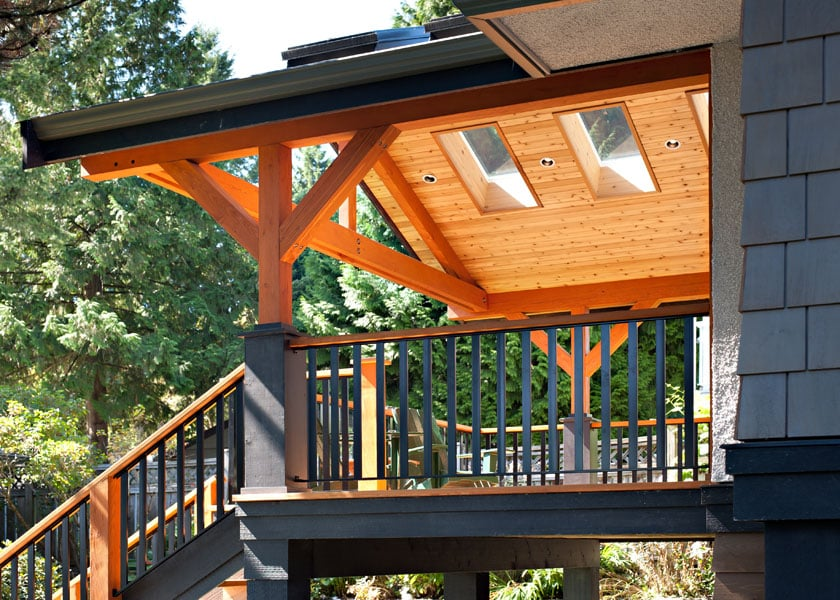Shakespeare Homes North Vancouver West Vancouver Decks
