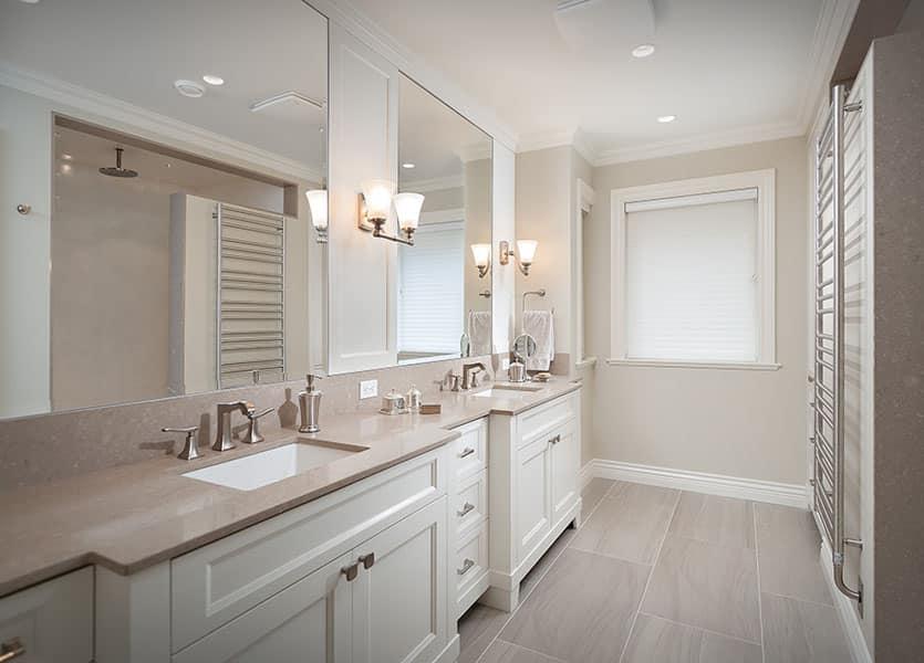 Modern Classic Bathrooms renovation