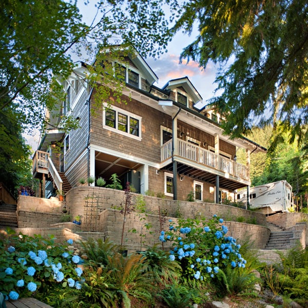 Shakespeare Homes North Vancouver West Vancouver Custom Decks Landscaping