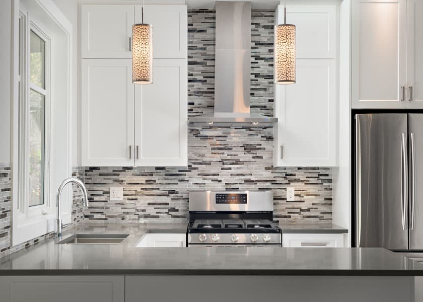 Modern kitchen - Shakespeare Homes renovations Vancouver North and West