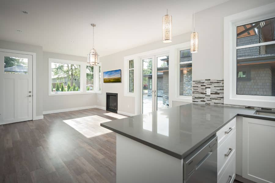 Modern and open kitchen - Shakespeare Homes renovations Vancouver North and West