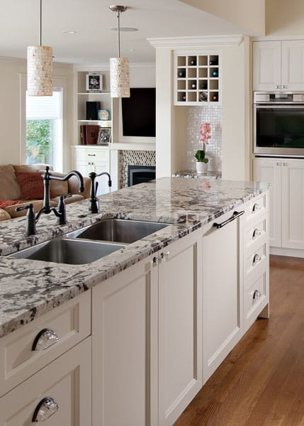 Beautiful Custom Built Kitchen Queens - Shakespeare Homes North Vancouver West Vancouver Kitchens