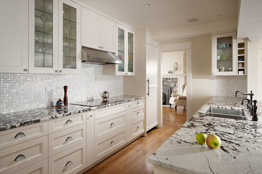 Beautiful Custom Kitchen after Queens - Shakespeare Homes North Vancouver West Vancouver Kitchens
