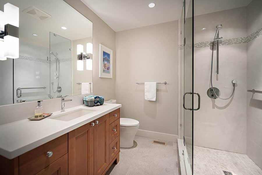 Shakespeare Homes North Vancouver West Vancouver Bathrooms