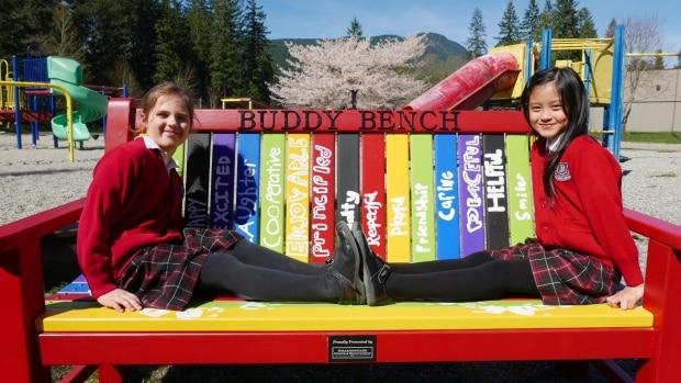 Community Girls Buddy Bench - Shakespeare Homes Renovations