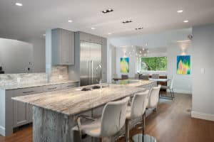 Modern Kitchen renovation - Shakespeare Homes and Renovations Vancouver