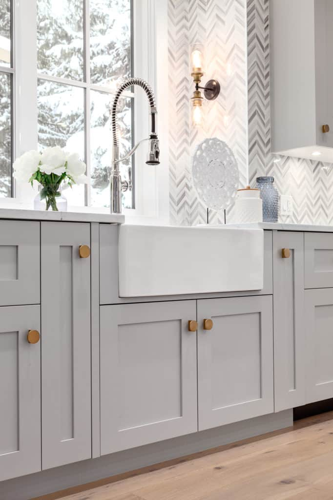 home builder north vancouver kitchen sink image