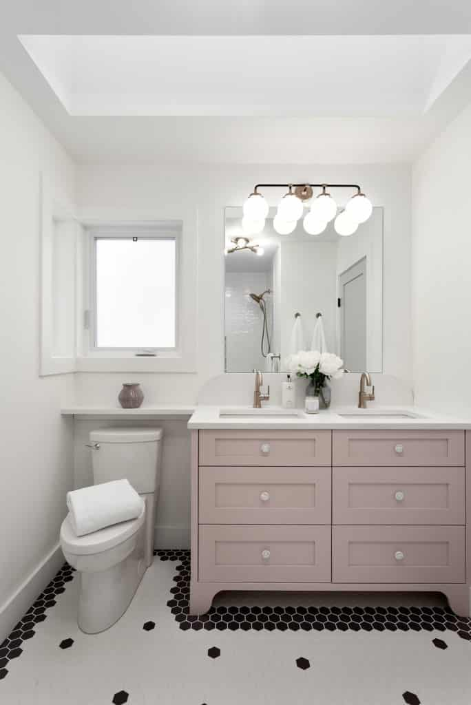 bathroom renovation north van bluebonnet