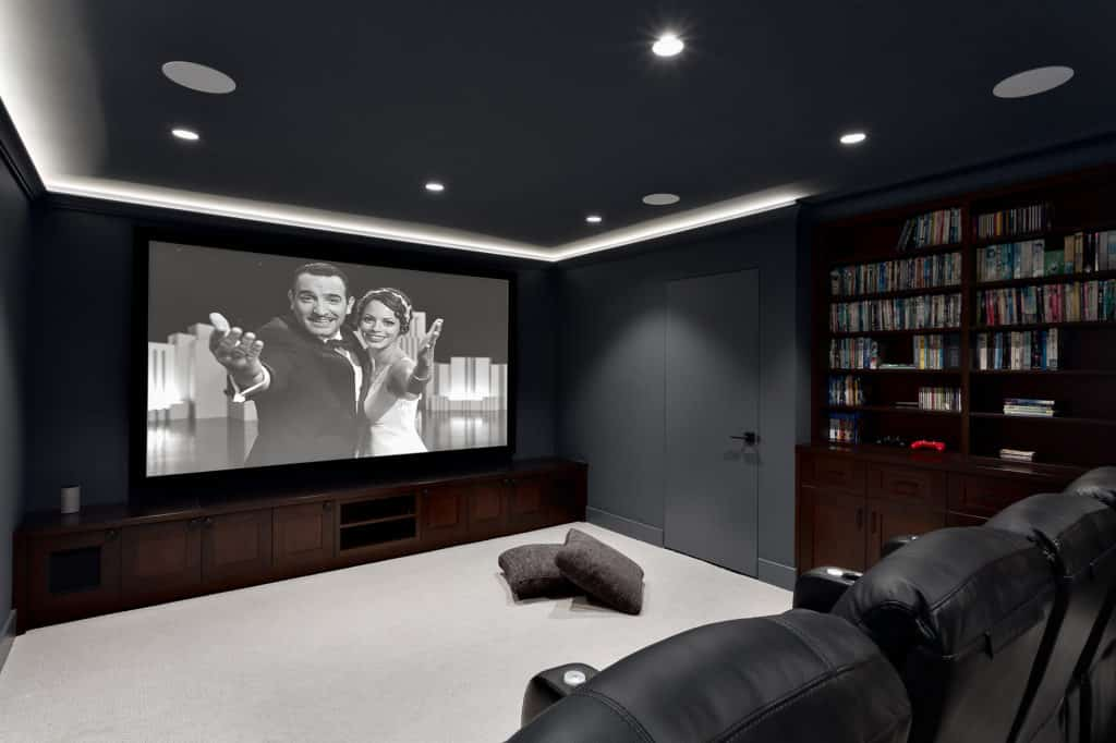 north vancouver home renovations theater